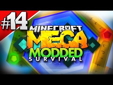 Minecraft MEGA Modded Survival #14 | THE HUNT FOR THAUMCRAFT ASPECTS - Minecraft Mod Pack