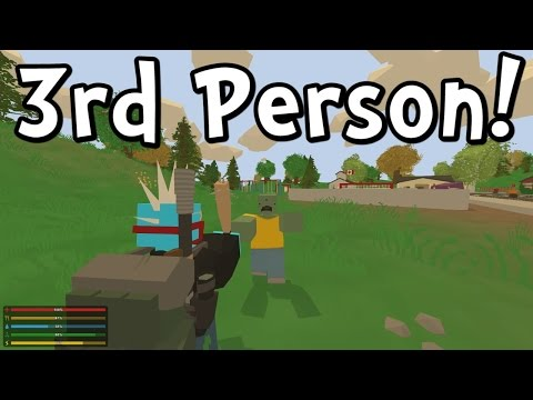 UNTURNED 3.0 3rd Person View! Advantage or Not?! (Gameplay / Walkthrough)