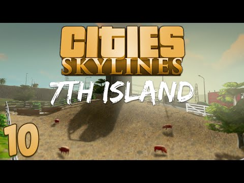 Cities Skylines 7th Island 10 Land Value Blues