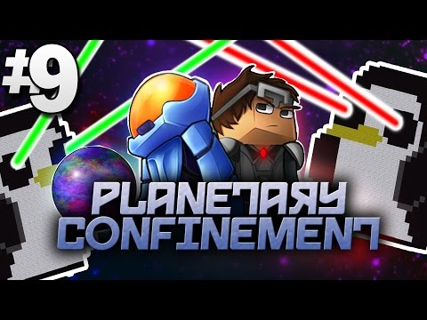 Minecraft Planetary Confinement #9 | PENGUINS ATTACK! - Vanilla Minecraft Mod Pack