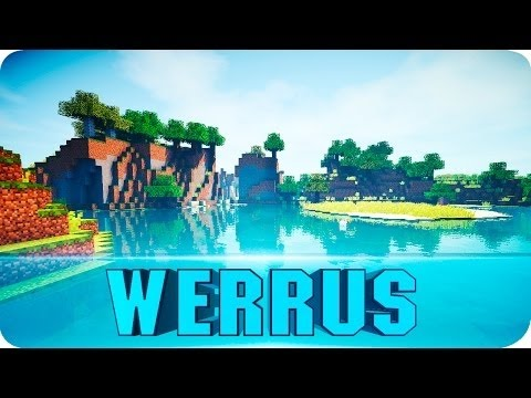 Minecraft Shader: Werrus Shaders Cinematic (Minecraft 1.8.4, 1.8, 1.7 Shader Pack)