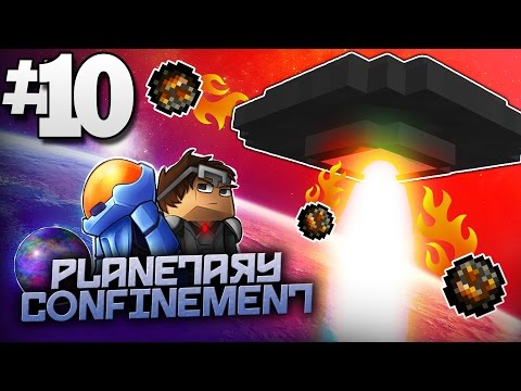 Minecraft Planetary Confinement #10 | DREADWING UFO BOSS FINALE! - Vanilla Minecraft Mod Pack