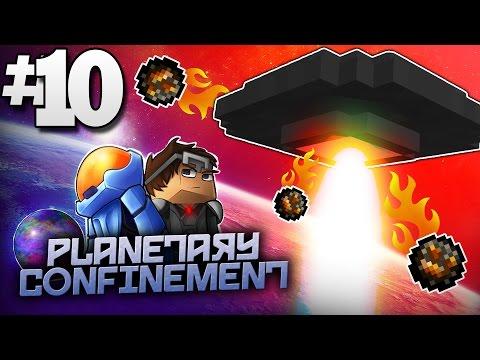 Minecraft Planetary Confinement #10 | DREADWING UFO BOSS FINALE! - Vanilla Minecraft Mod Pack