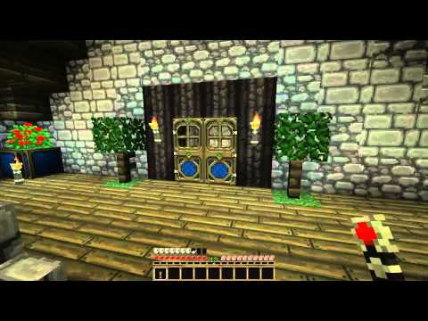 Minecraft House Tour