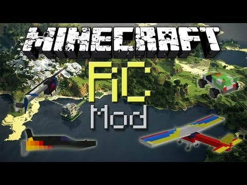 Minecraft: RC Mod - Little Vehicles!