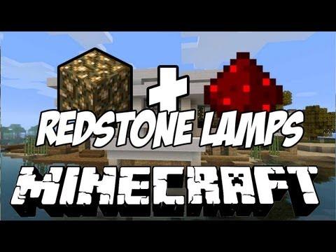 Minecraft 1.2 Snapshot 12w07a | Glowstone + Redstone = Lamp