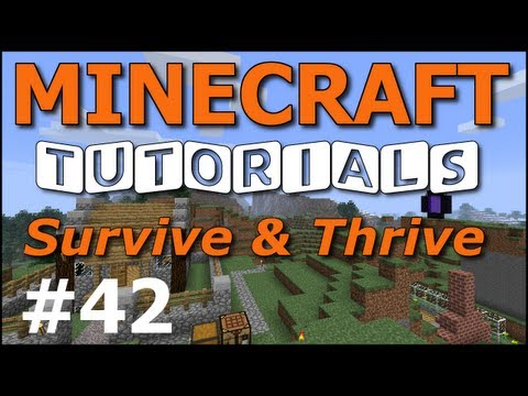 Minecraft Tutorials - E42 Jungles and Cats (Survive and Thrive II)