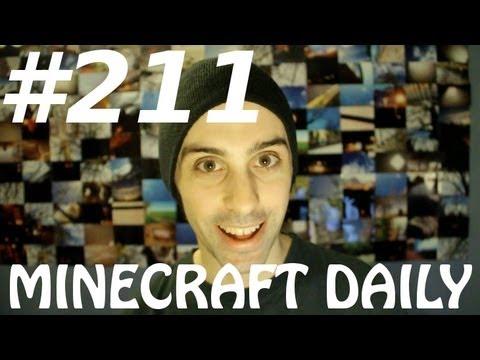 Minecraft Daily 08/03/12 (211) - Pirate Battle Game! Western Creeper 2! Pimp My Minecraft!