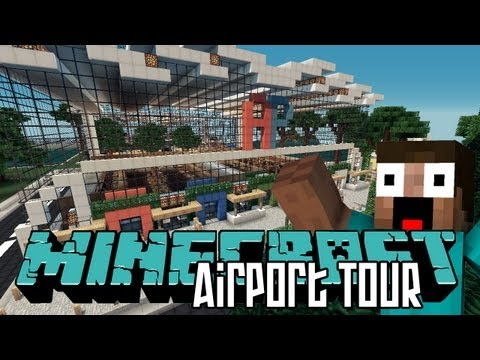 Minecraft Airport HD - Tour & World Save Download