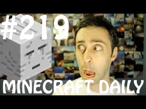 Minecraft Daily 23/03/12 (219) - Left 4 Bread! Turn Any Block into a Chest!?