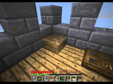 Minecraft Builder's Book - Castle Construction part 1 (Spiral Staircase Tower)