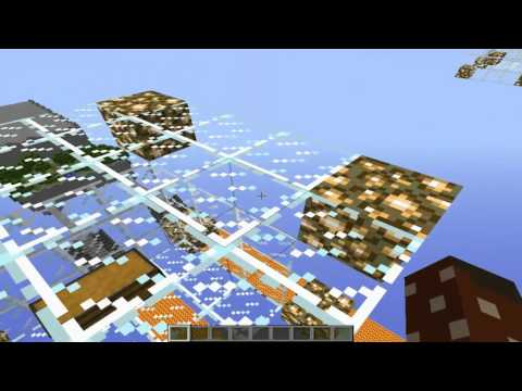 #Minecraft Cliff hanger race for the wool map