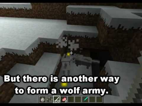 Minecraft Mob Guide - The Wolf