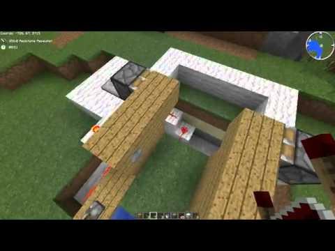 #Minecraft Automatic boat dock tutorial