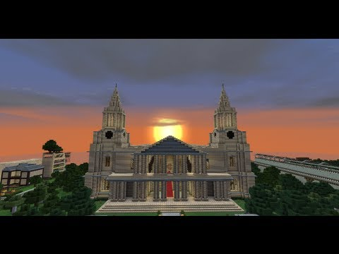 Minecraft St Pauls Cathedral (build)
