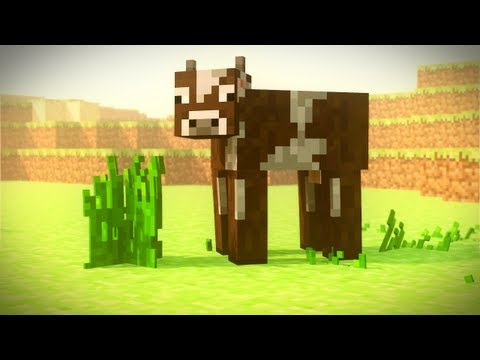 The Hungry Cow - A Minecraft Animation