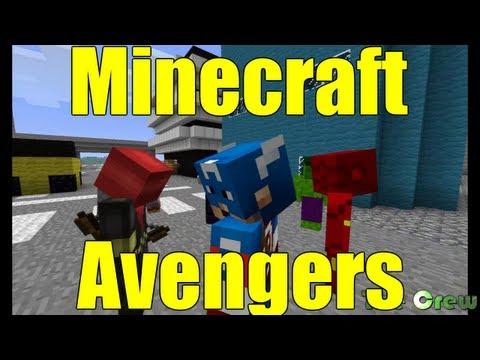 Minecraft Avengers Assemble - A Crew Parody