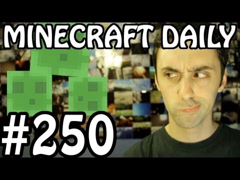 Minecraft Daily 08/05/12 (250) - Cocoa Bean Plants!!! Griefing IRL! Ice Fishing!