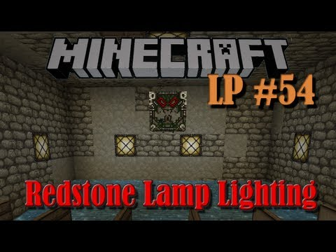 Redstone Lamp Lighting - LP #54