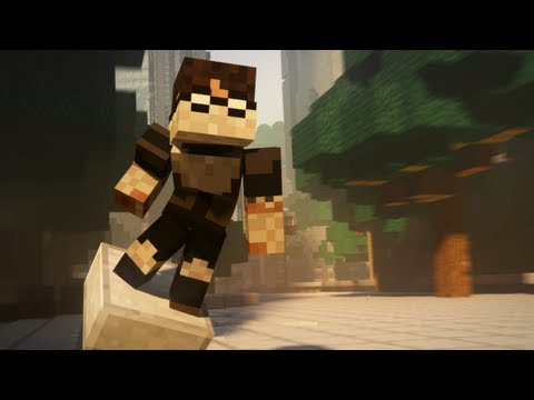 Earthbending in Minecraft - Animation