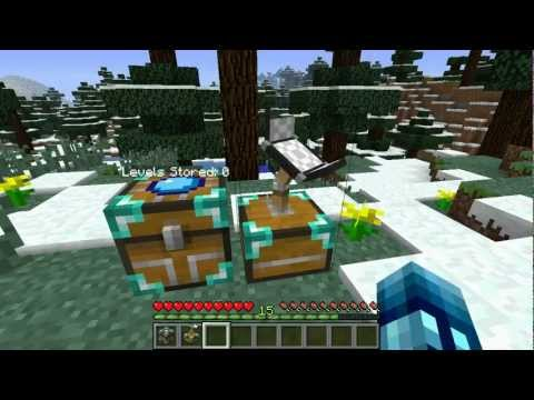 Minecraft: XP Bank Mod - Store and Exchange EXP with your Friends!