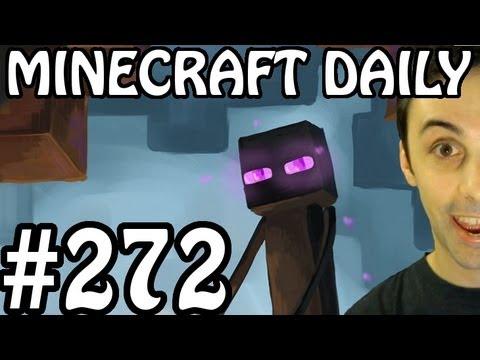 Minecraft Daily 14/06/12 (272) - Snapshot Week 24! Minecon News Soon! Rapid Fire TNT cannon!