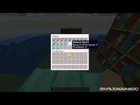 #Minecraft 1.2.5 Mythbusters - Wood vs Diamond Enchantability