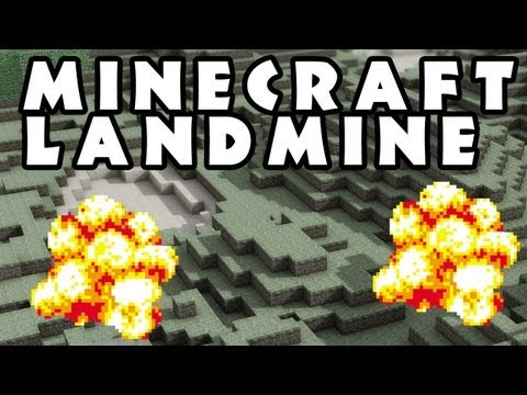 #Minecraft 100% Undetectable Minefield -Proximity detection