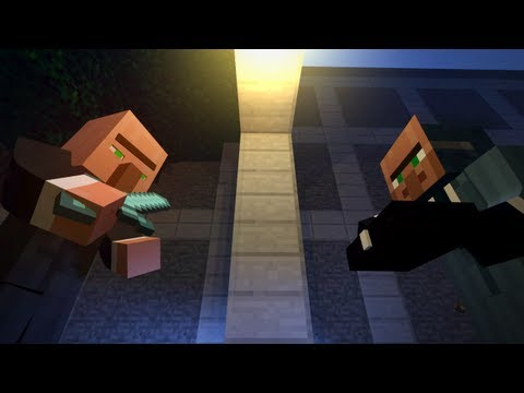 Emerald Trading - A Minecraft Animation