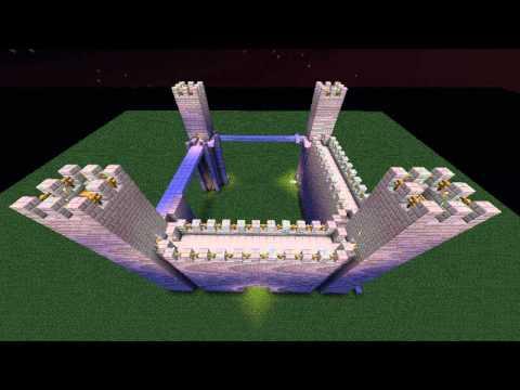 Minecraft Castle Time Lapse + Tutorial Link (Builder's Book Special)