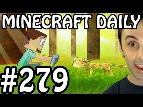 Minecraft Daily 02/07/12 (279) - Arcan Chronicles! Pimp My Minecraft! Animations!