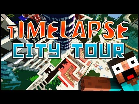 Minecraft WoK Server: Timelapse City Tour