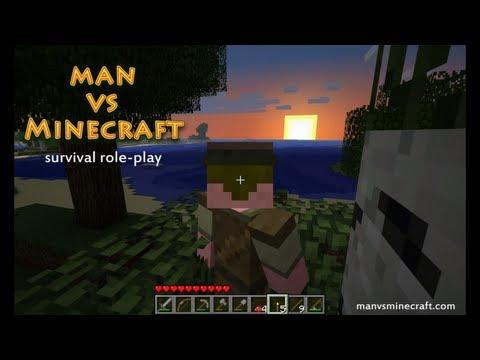 Man vs Minecraft - [S3] Making Day 10 - Goblins! (Part 1)