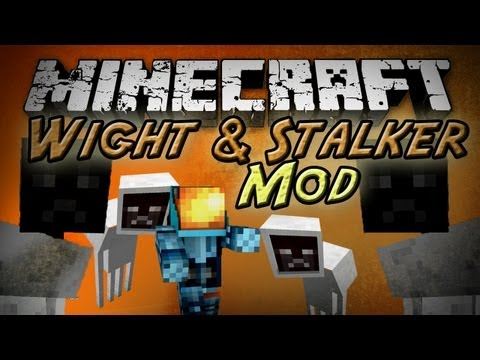 Minecraft: Wight & Stalker Mod – More Scary Mobs!