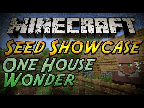 Minecraft Seed Showcase - One-Housed Village, Diamonds, and More!