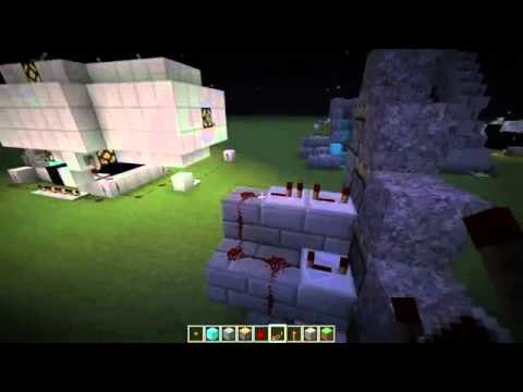 #Minecraft How to make an escalator with pistons