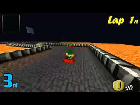 #Minecraft Mario Kart -- Bowser Castle