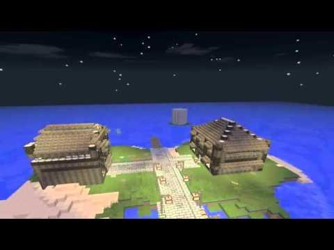 #Minecraft: Server spawn timelapse