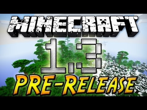 Minecraft: 1.3 Pre-Release - Sideways Logs, Stronger Creepers, and More!