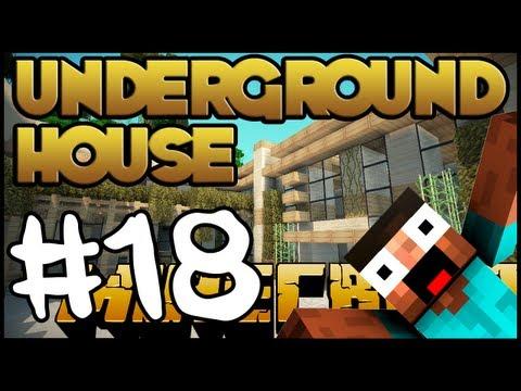 Minecraft Lets Build HD: Underground House - Part 18