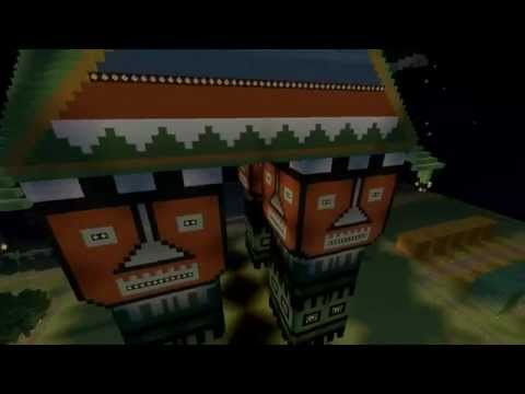 #Minecraft Chinese Crib Build Timelapse and showcase