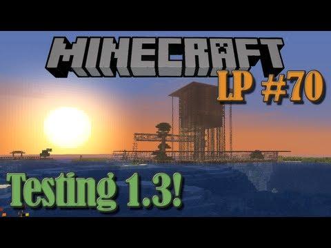 Testing Minecraft 1.3 - Monkeyfarm's LP #70