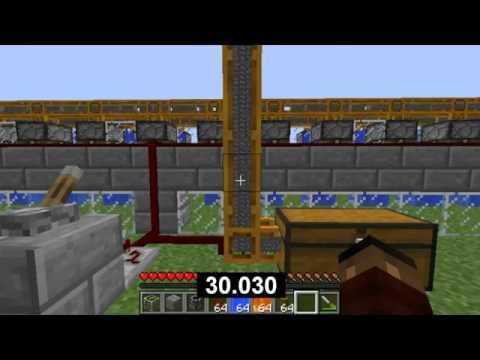 #Minecraft 4800 Blocks per minute cobblestone generator