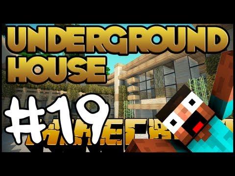 Minecraft Lets Build HD: Underground House - Part 19