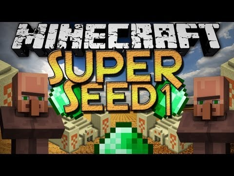 Minecraft: SUPER Seeds - 5 Temples, 4 Villages, 3 Spawners, and More!