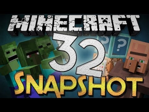 Minecraft: Snapshot 12w32a - New Zombies, Command Blocks, Better Trading, and MORE!