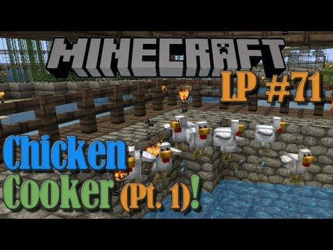 Chicken Cooker (Pt 1) - Minecraft LP #71