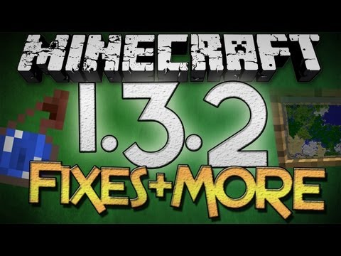 Minecraft: 1.3.2 Fixes + Future Updates - Framed Items, Invisibility Potion, and MORE!