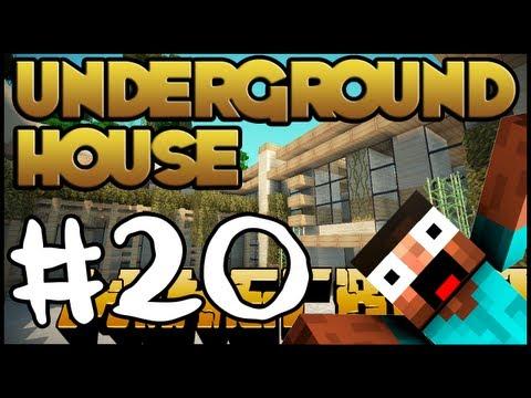 Minecraft Lets Build HD: Underground House - Part 20 + Progress Download