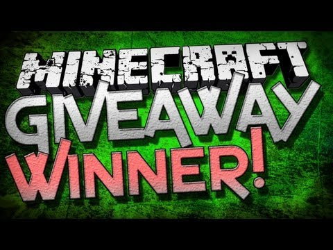 Minecraft Gift Code Giveaway Winner!
